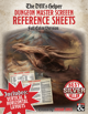 D&D 5e DM Reference Sheets - DM Screen - Horizontal & Vertical Pages