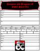 5E NPC sheet