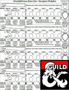 Arclords Attack Roll vs Armor Class Description Worksheet