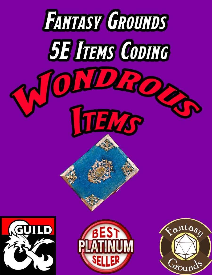 Fantasy Grounds 5E Items Effects Coding - Wondrous Items ... - photo#22