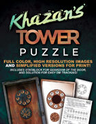Curse of Strahd: Khazan's Tower Puzzle Artwork & Guide