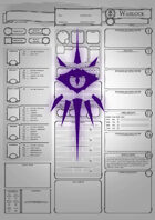 Class Character Sheets - The Warlock