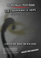 Mother Haggle's Notice Board - The Sandman - Part One: Overture