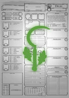 Class Character Sheets - The Druid