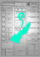 Class Character Sheets - The Wizard