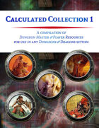 Calculated Collection 1