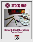 Stock Map: Beneath Blackthorn Keep Second Level