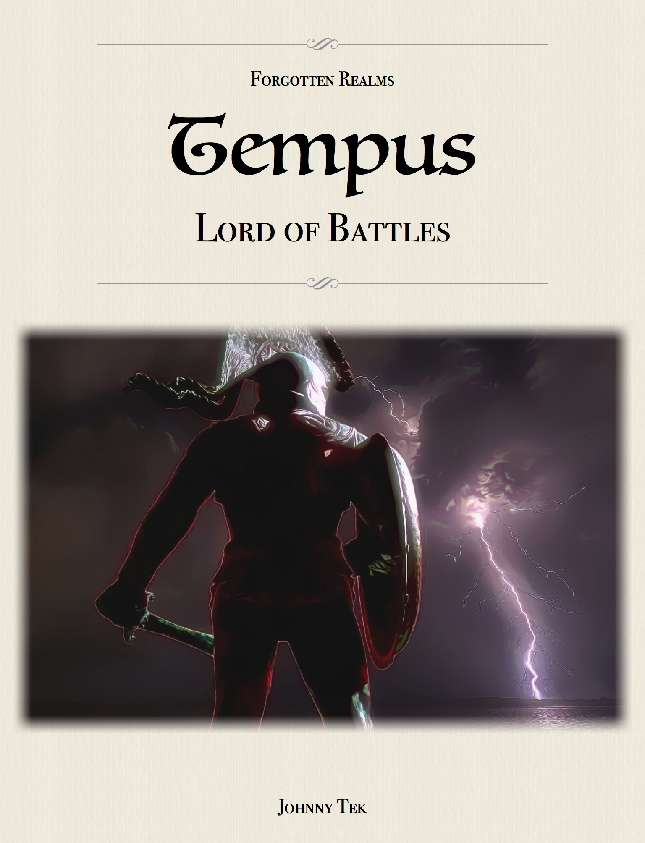 TEMPUS, Lord of Battles ✧ Forgotten Realms 5e - Dungeon Masters Guild |  Dungeon Masters Guild