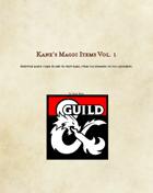 Kane's Magic Items Volume 1