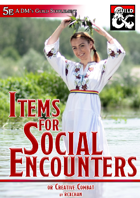 Items for Social Encounters (5e)