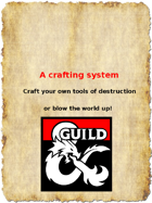 A crafting system