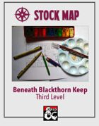 Stock Map: Beneath Blackthorn Keep Third Level
