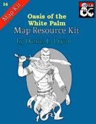 DM Notes & Maps for Oasis of the White Palm Maps (I4)