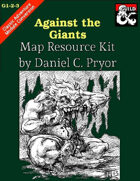 DM Notes & Maps for Against the Giants: Steading of the Hill Giant Map (G1)