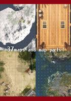 37maps & map parts!