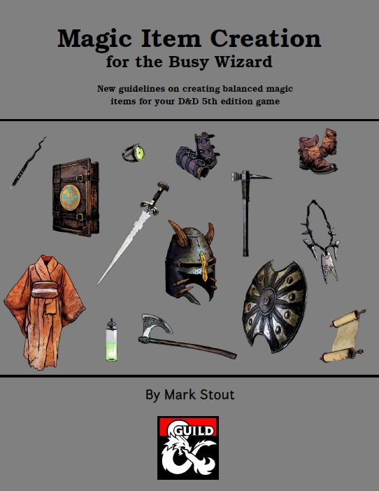 Magic Item Creation Guide (5e) - Dungeon Masters Guild