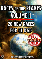 Races of the Planes Vol. 1 (20 New Races)
