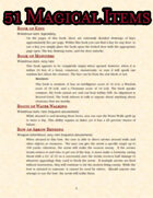 51 Homebrew Magical Items