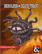 Beholder Print & Play Miniature Set
