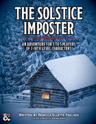 The Solstice Imposter