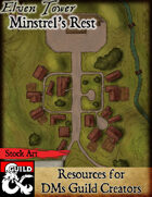 Minstrel's Rest - Stock Art