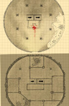 Map - The Desert Temple Ruin