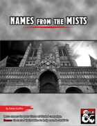 Names from the Mists