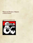 Warlock Patron: Primus