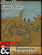 Fisher's Cove - Stock Art