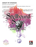 Spellbound Score - 20 Full Sheet Magic Item Handouts