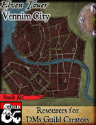 Vennim City - Stock Art