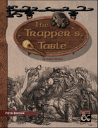 The Trappers Table