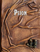Psion - A Mystical Character Class