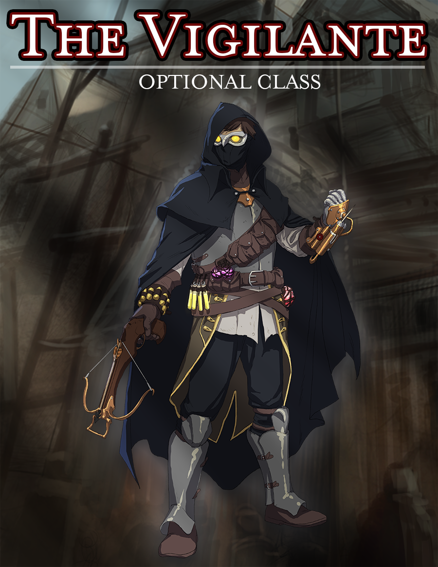 The Vigilante Class - Dungeon Masters Guild | Dungeon Masters Guild
