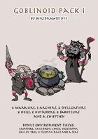Paper Miniatures: Goblinoid Pack 1