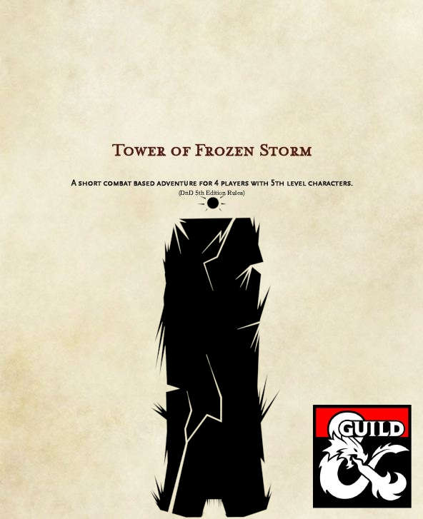 5E The Tower of Frozen Storm - Dungeon Masters Guild