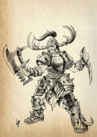 Stock art - Female Orc chief