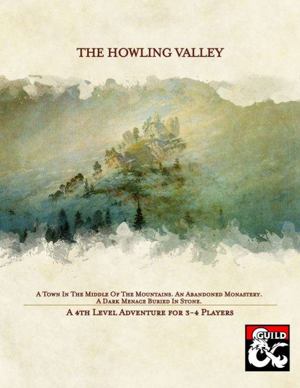 Cover of The Howling Valley