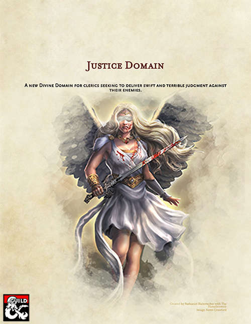 Cleric Archetype: Justice Domain - Dungeon Masters Guild