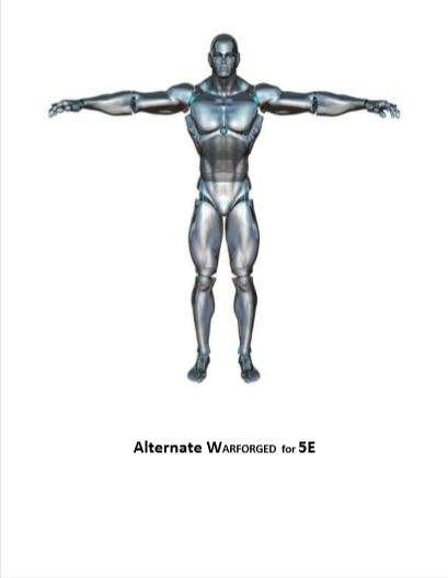 Alternate Warforged for D&D 5E - Dungeon Masters Guild