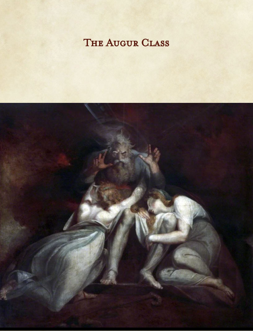 The Augur Class - Dungeon Masters Guild | DriveThruRPG com