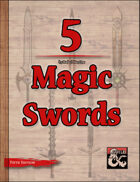 5 Magic Swords