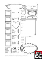 Jon's Fantastical Custom Character Sheet for D&D 5e
