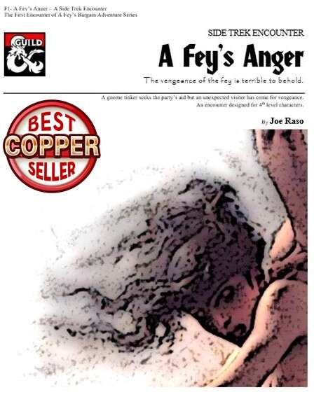 Cover of A Fey's Anger