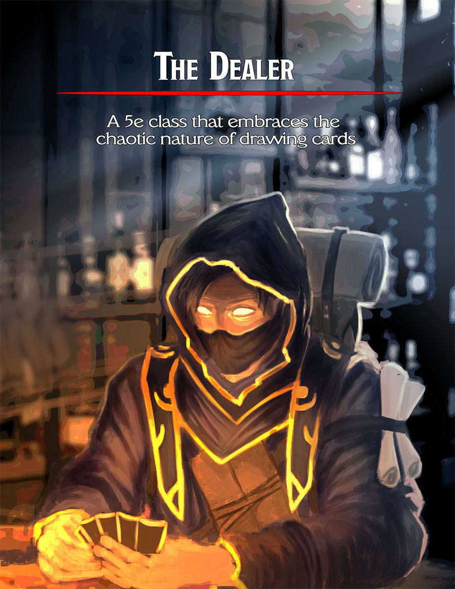 The Dealer (5e Class) - Dungeon Masters Guild   Dungeon