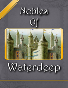 Nobles of Waterdeep