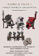 Paper Miniatures: Kobold Pack 1