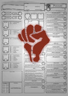 Class Character Sheets - The Pugilist