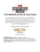 CCC-GARY-07: The Mirror Cities of Gulthias