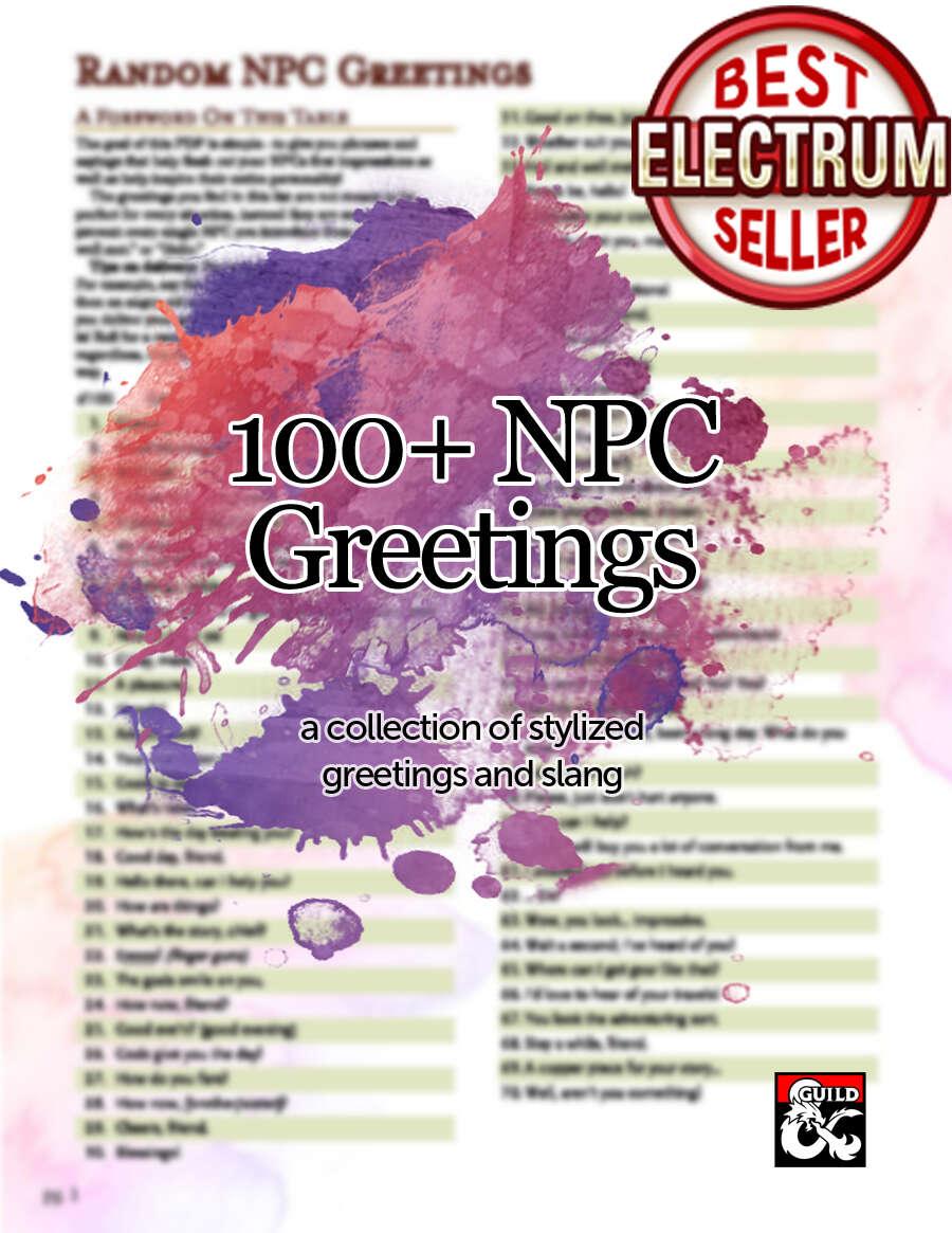 npc greetings